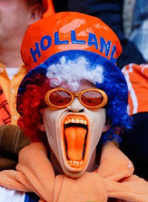 Fussball WM: Fan Niederlande