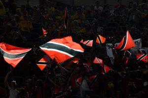 WM, Trinida-Schweden: Trinidad Flaggen