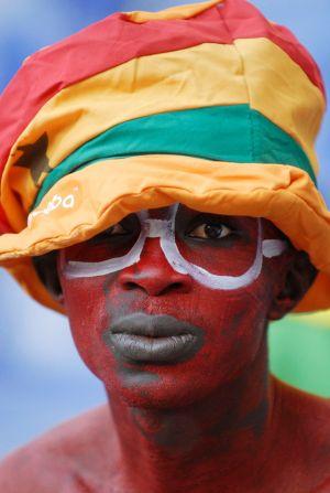 Italen-Ghana:  Fan Ghana