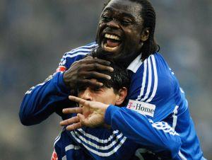 Schalke-Bremen: Grossmueller jubelt mit Asamoah