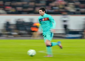 Leverkusen-Barcelona: Lionel Messi