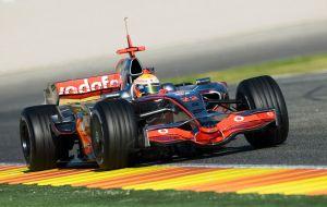 Hamilton, McLaren Mercedes